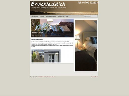 Bruichladdich self catering house