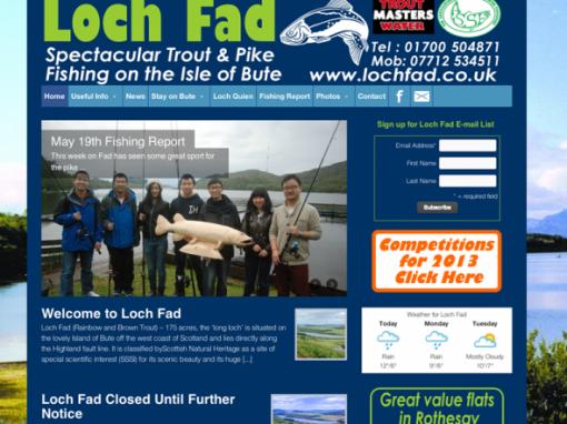 Loch Fad Fishery